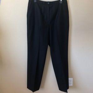 Pendleton 100% Virgin Wool Black Trousers Size 16